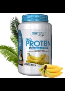 Kolly Fitness Pro Protein 1000g - banán