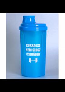 Kolly Fitness - Shaker 500 ml, Kussolsz, Nem sírsz, Csinálod