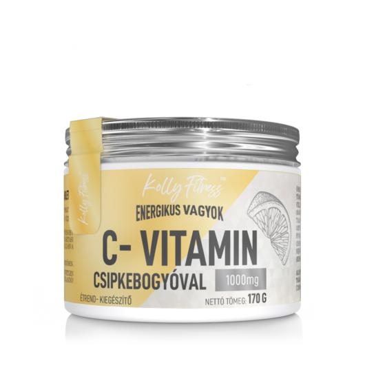 Kolly Fitness - C vitamin 1000 mg csipkebogyóval 100 tab.