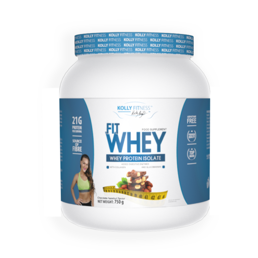 Kolly Fitness - Fit Whey Protein -750 g - Csoki-mogyoró