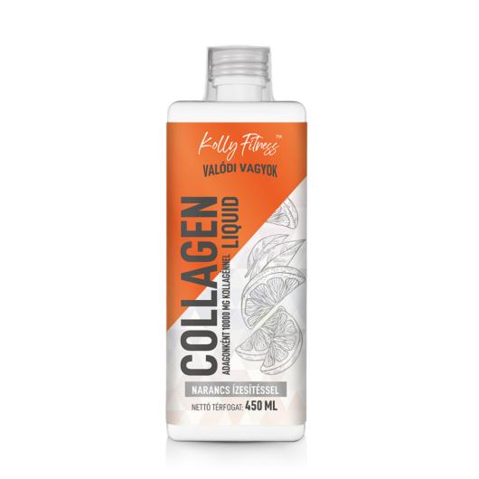Kolly Fitness - Collagen Liquid - 450 ml - Narancs