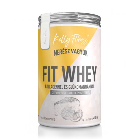 Kolly Fitness - Fit Whey 450 g - Citromos sajttorta
