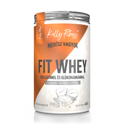 Kolly Fitness - Fit Whey 450 g - Csoki-mogyoró