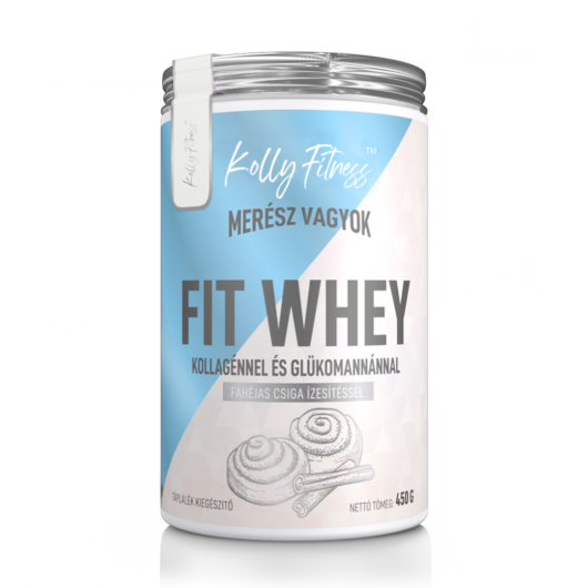 Kolly Fitness - Fit Whey 450 g - Fahéjas csiga