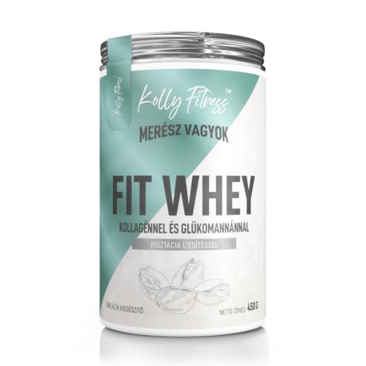 Kolly Fitness - Fit Whey 450 g -Pisztácia
