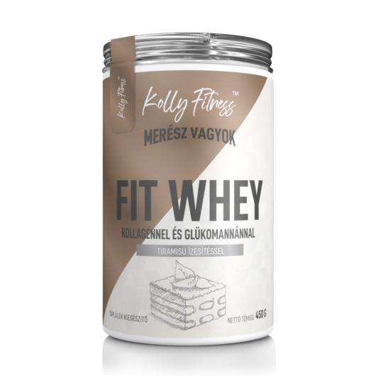 Kolly Fitness - Fit Whey 450 g - Tiramisu