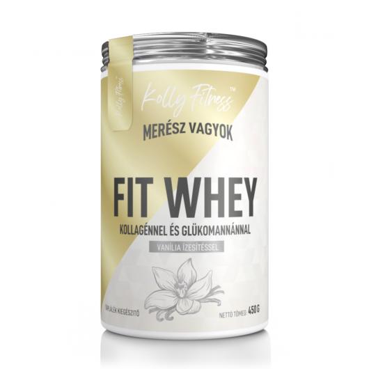 Kolly Fitness - Fit Whey 450 g - Vanília
