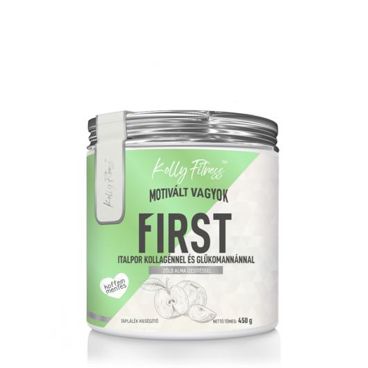Kolly Fitness - First koffeinmentes zsírégető Zöld alma 450 g