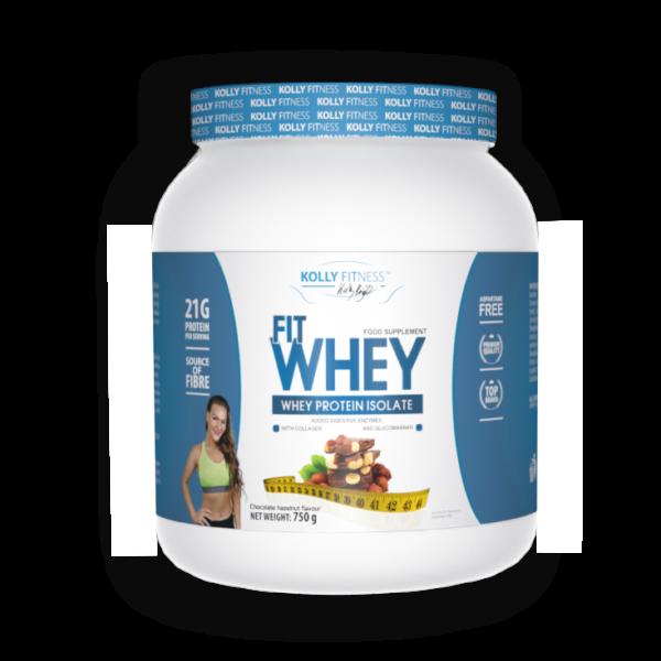 Kolly Fitness - Fit Whey Protein -750 g - Csoki-mogyoró