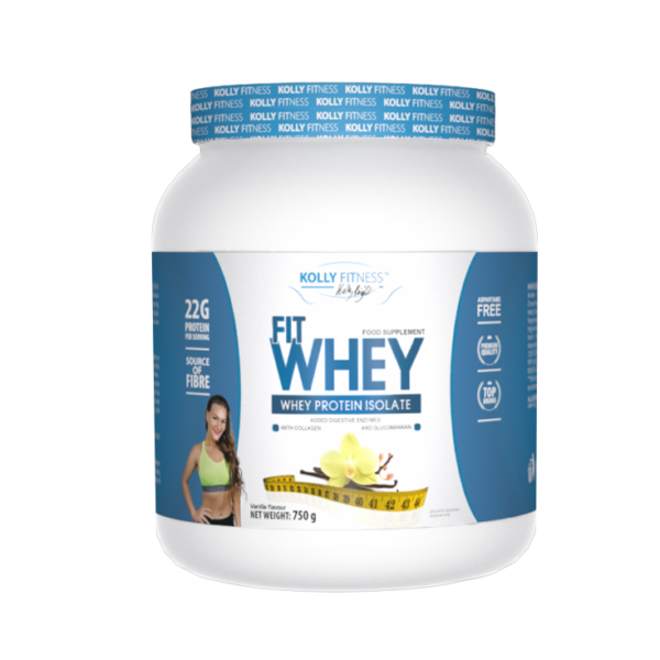 Kolly Fitness - Fit Whey Protein -750 g - Vanília