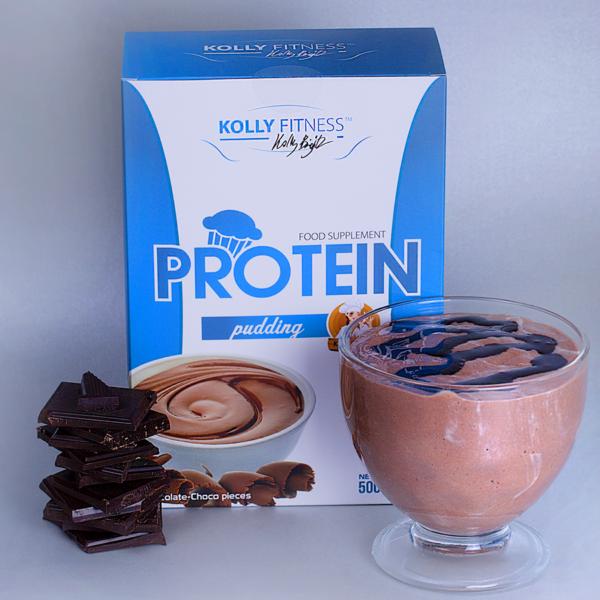 Kolly Fitness - Protein Pudingpor csokoládé 500g