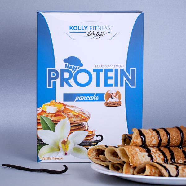 Kolly Fitness - Protein Palacsintapor vanília 500 g