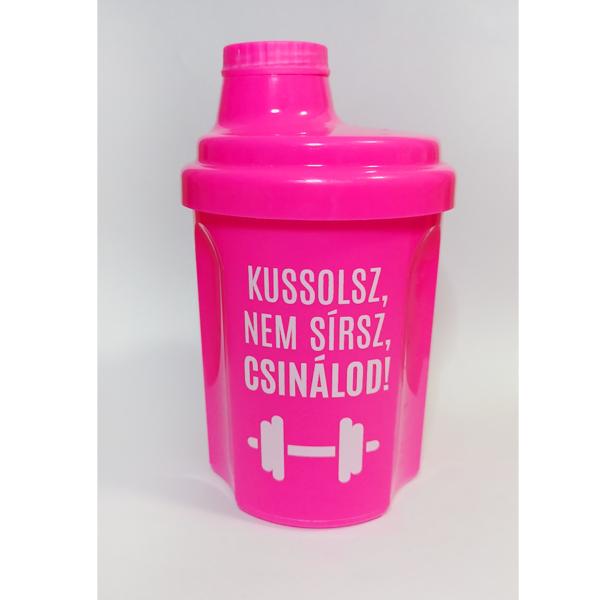 Kolly Fitness Shaker 300 ml, Kussolsz, Nem Sírsz