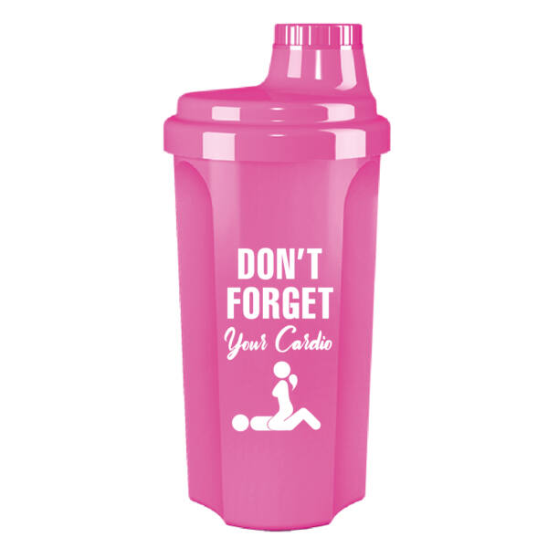 Kolly Fitness - Neon Shaker 500 ml, Don't forget (pink)