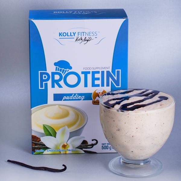 Kolly Fitness - Protein Pudingpor vanília 500g